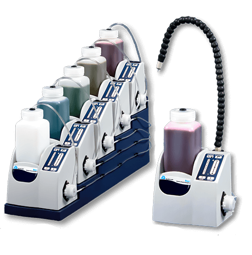 Burst Dispensing System for Grinding & Polishing