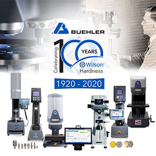 Buehler Celebrates 100 Year Anniversary of Wilson® Hardness
