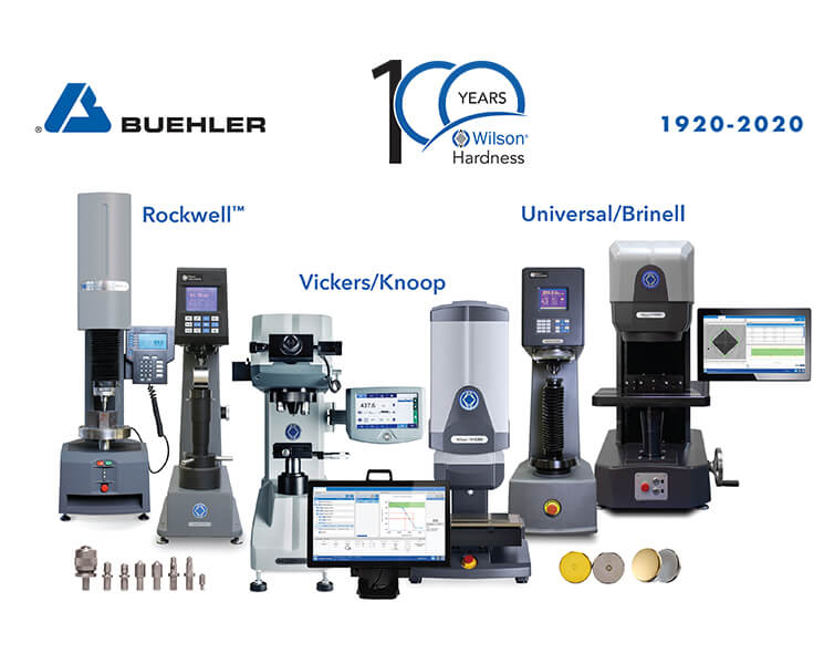 Buehler Celebrates 100 Years of Wilson Hardness